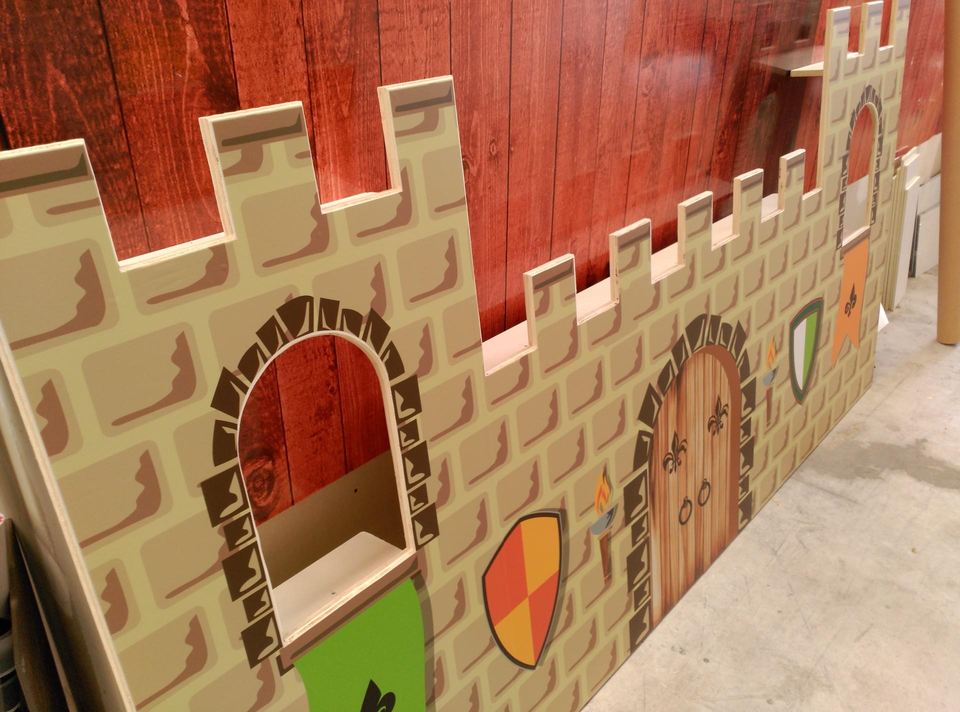Crea imagen asociaci n de comerciantes de estella - Castillos para ninos de infantil ...