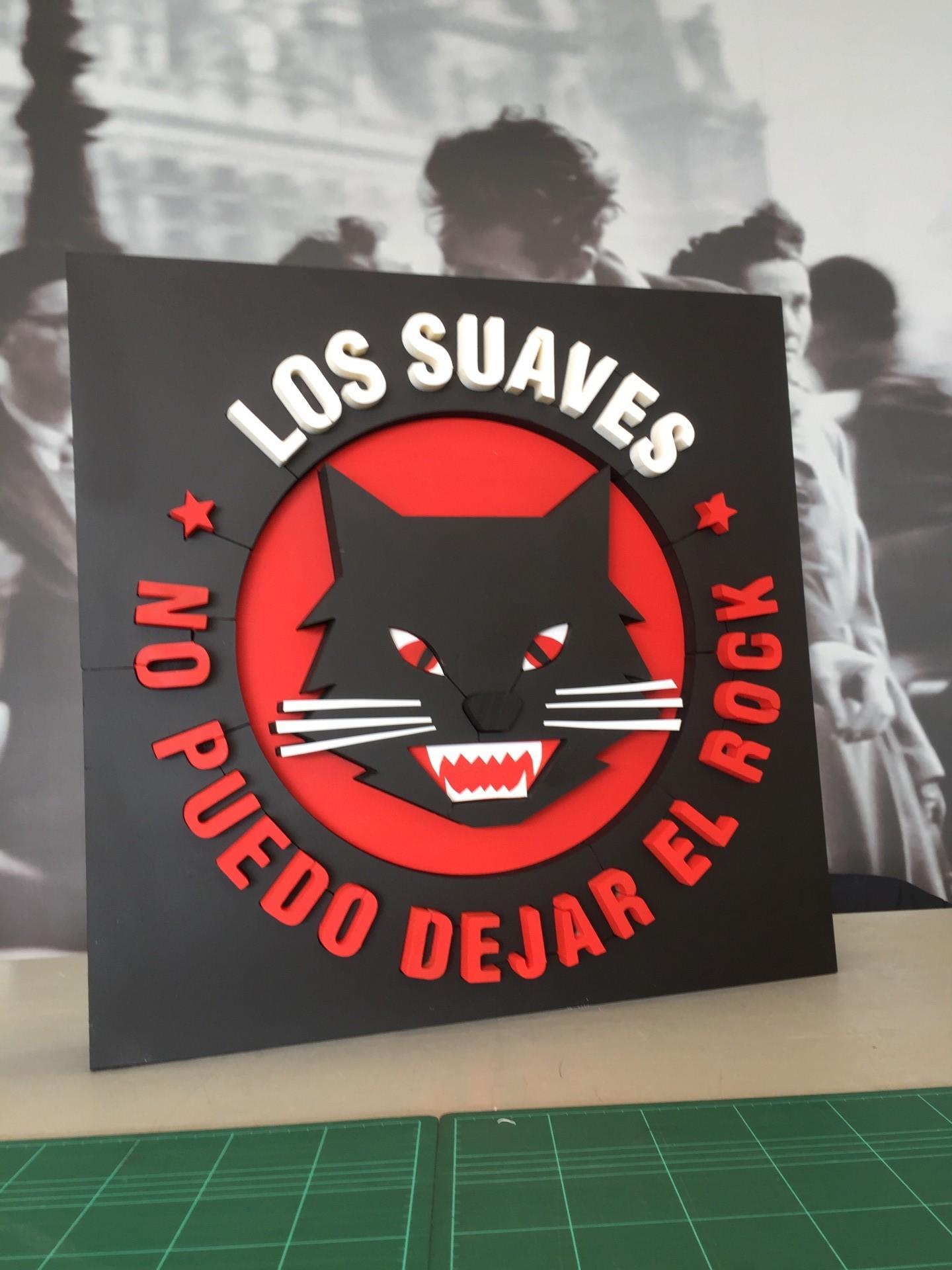 suaves_lossuaves_musica_logo_cartel_poliestireno_letrero_regalo__ESTELLA_NAVARRA_IMPRESIÓN_DISEÑO_VINILOS_ROTULACIÓN