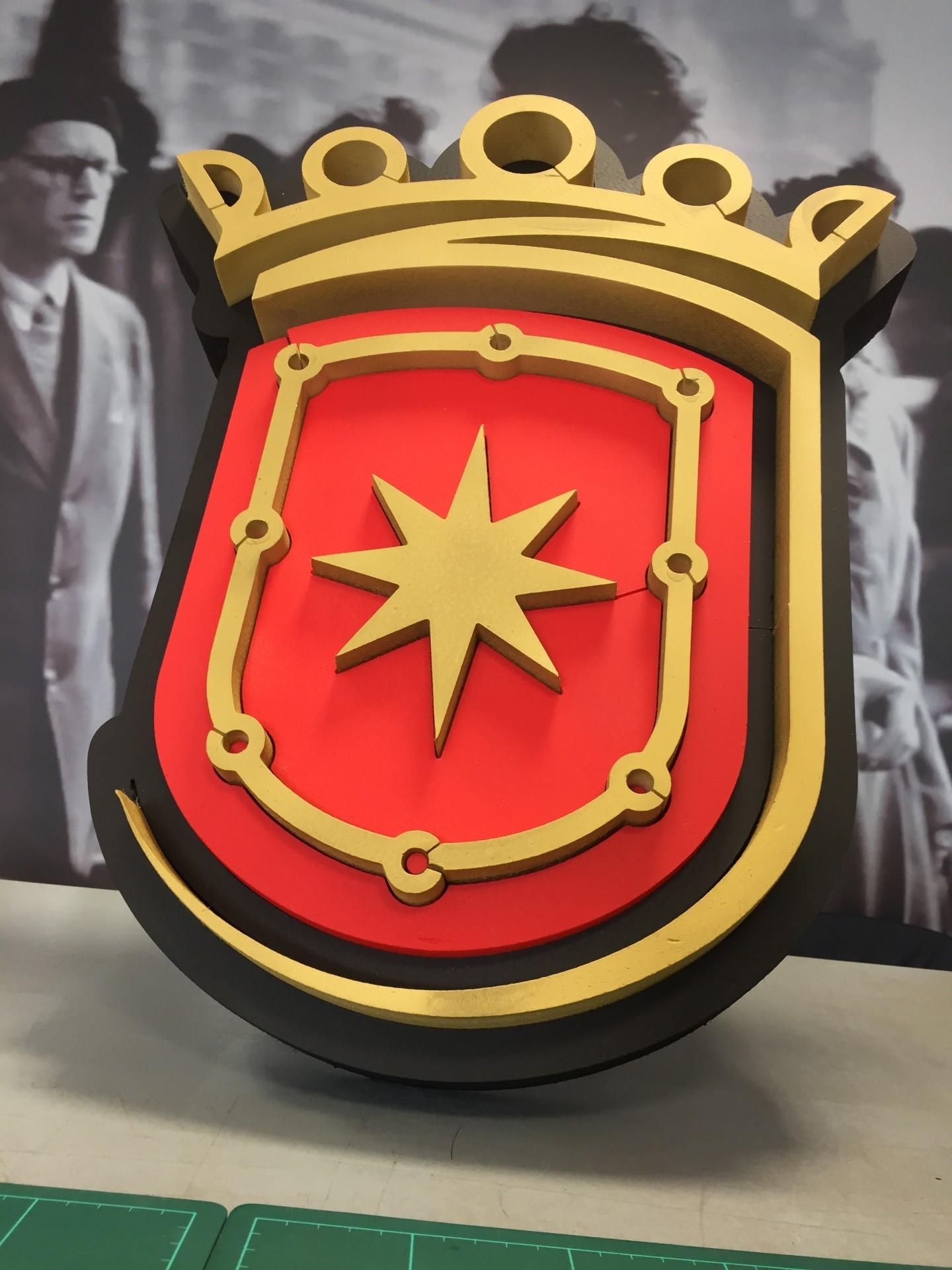 estella_escudo_logo_cartel_poliestireno_letrero_regalo_ESTELLA_NAVARRA_IMPRESIÓN_DISEÑO_VINILOS_ROTULACIÓN